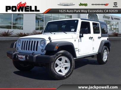 Certified 2018 Jeep Wrangler JK 4WD Unlimited Sport - 544250990