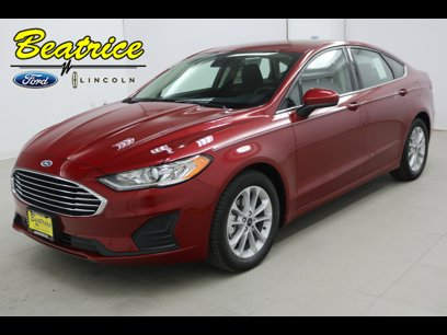 New 2020 Ford Fusion SE - 522646756