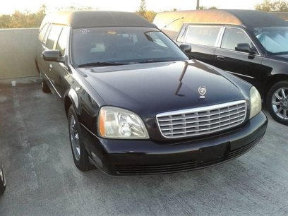 Used 2004 Cadillac De Ville Hearse for sale in Deerfield