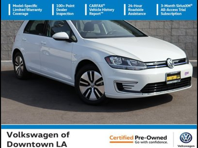 Certified 2019 Volkswagen e-Golf SE - 563110697