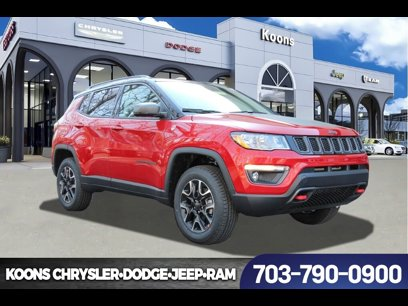 New 2020 Jeep Compass 4WD Trailhawk - 537741607