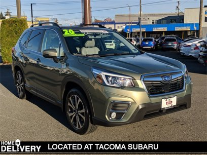 Certified 2020 Subaru Forester Limited - 566521653