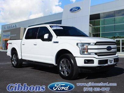 Certified 2019 Ford F150 Lariat - 544260940