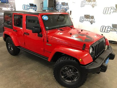Used 2018 Jeep Wrangler 4WD Unlimited Freedom Edition - 526902138