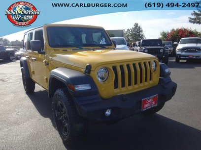 New 2020 Jeep Wrangler 4WD Unlimited Sport - 537209064