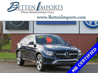 Certified 2017 Mercedes-Benz GLC 300 4MATIC Coupe - 533212930