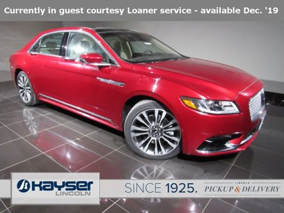 Used 2019 Lincoln Continental AWD Reserve - 509420058