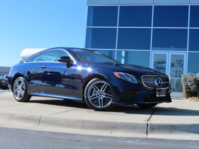Certified 2018 Mercedes-Benz E 400 4MATIC Coupe - 541952525