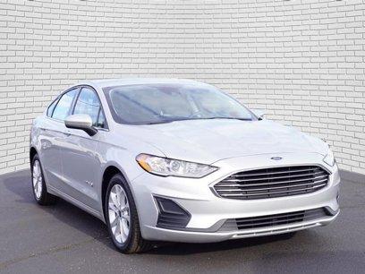 New 2019 Ford Fusion SE Hybrid - 520198303