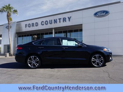 Certified 2019 Ford Fusion Titanium AWD - 544129162