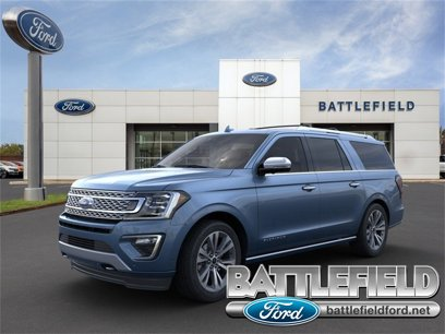 New 2020 Ford Expedition Max 4WD Platinum - 534427148