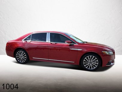 Certified 2017 Lincoln Continental Select - 545890846