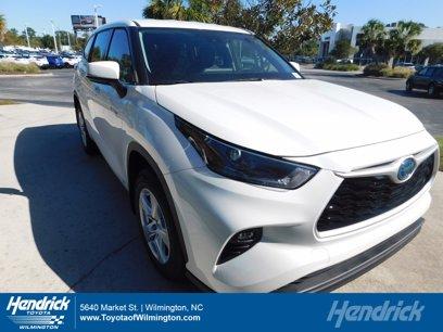 New 2021 Toyota Highlander AWD LE Hybrid - 567231067