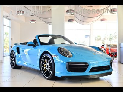 Used 2019 Porsche 911 Turbo S Cabriolet - 528656774