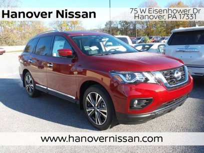 New 2020 Nissan Pathfinder 4WD Platinum - 533740531