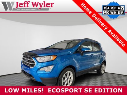 Used 2019 Ford EcoSport FWD SE - 566682159
