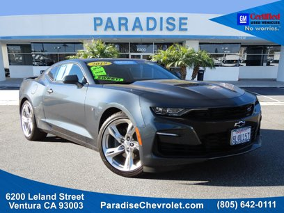 Certified 2019 Chevrolet Camaro SS Coupe w/ 1SS - 542977860
