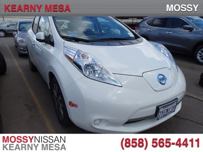 Used 2017 Nissan Leaf SV - 548177874