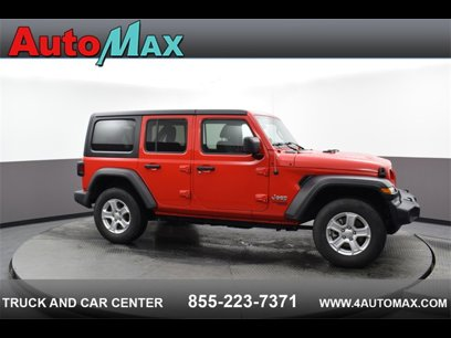 Used 2019 Jeep Wrangler 4WD Unlimited Sport - 546787390