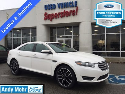 Certified 2017 Ford Taurus SEL - 543005747