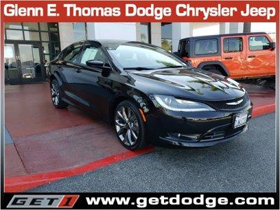 Used 2015 Chrysler 200 S - 542593053