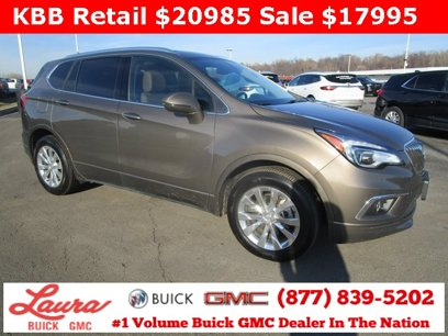 Certified 2017 Buick Envision FWD Essence - 538192327