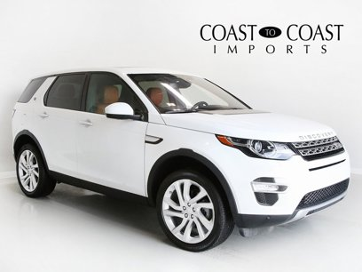 Used 2017 Land Rover Discovery Sport HSE Luxury - 538042619