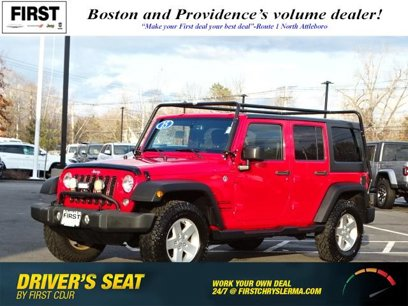 Certified 2015 Jeep Wrangler 4WD Unlimited Sport - 539883477