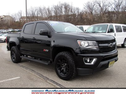 Certified 2018 Chevrolet Colorado 4x4 Crew Cab Z71 - 547184665