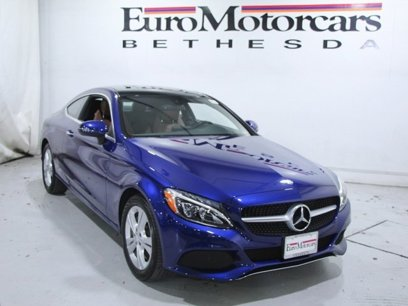 Certified 2017 Mercedes-Benz C 300 4MATIC Coupe - 538261309