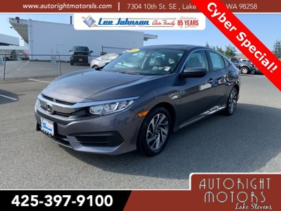 Used 2016 Honda Civic EX Sedan - 564259770