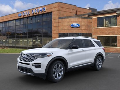 New 2020 Ford Explorer 4WD Platinum - 524163635