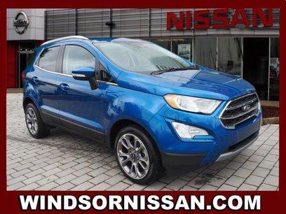 Used 2018 Ford EcoSport FWD Titanium - 536078263