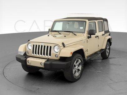 Used 2016 Jeep Wrangler 4WD Unlimited Sahara - 549206788