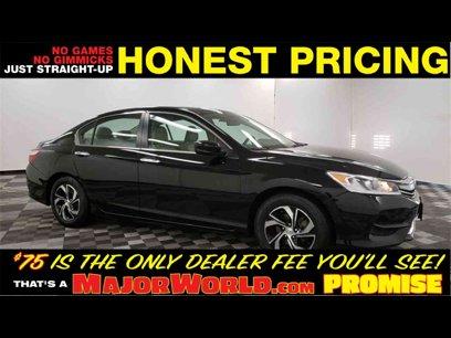 Used 2017 Honda Accord LX Sedan - 538809946