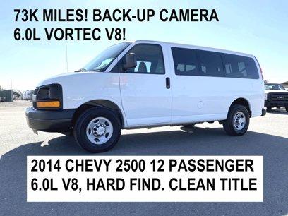 Used 2014 Chevrolet Express 2500 LS Passenger - 566947045