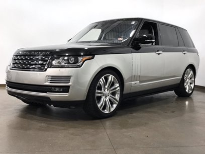 Certified 2017 Land Rover Range Rover LWB SV Autobiography - 535963679