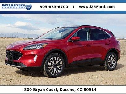 New 2020 Ford Escape 4WD Titanium - 531576110