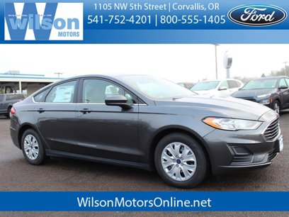 New 2020 Ford Fusion S - 527306970
