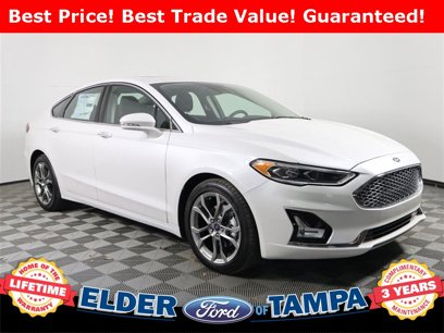 New 2020 Ford Fusion Titanium Hybrid - 537295871
