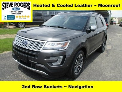 Used 2016 Ford Explorer 4WD Platinum - 515704765