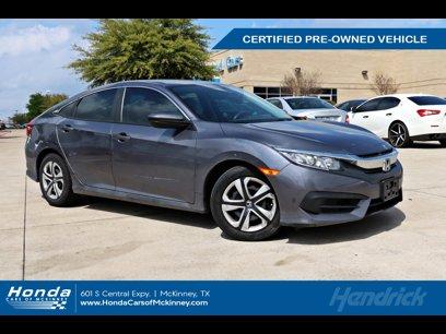 Certified 2016 Honda Civic LX Sedan - 566350946