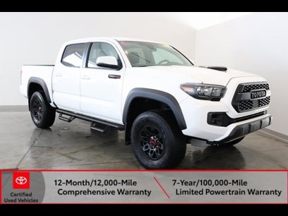 Certified 2018 Toyota Tacoma TRD Pro - 543244499