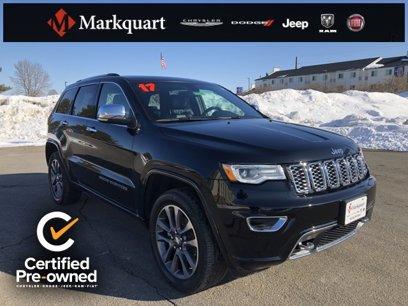 Certified 2017 Jeep Grand Cherokee Overland - 543758932