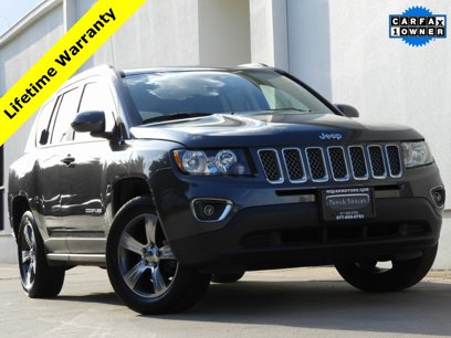 Used 2017 Jeep Compass High Altitude - 528576104
