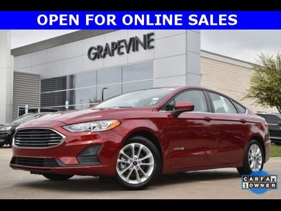 Certified 2019 Ford Fusion SE Hybrid - 548073192