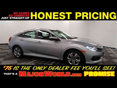Used 2018 Honda Civic LX Sedan - 543186551
