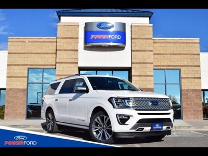 New 2020 Ford Expedition Max 4WD Platinum - 543306509