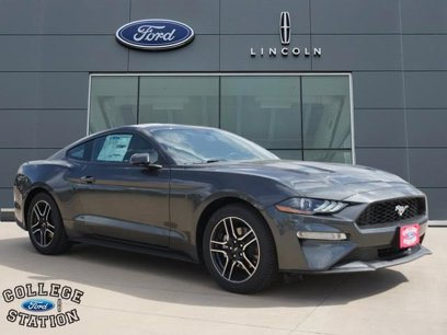 Ford College Station >> New 2019 Ford Mustang Premium For Sale In College Station