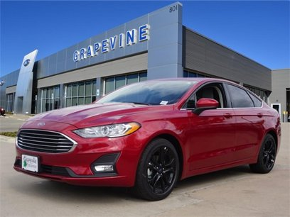 New 2020 Ford Fusion SE - 528776515
